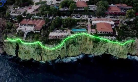 Antalya'daki tepki çeken falez projesi iptal edildi!