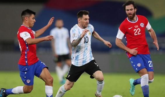 MAÇ ÖZETİ: Arjantin - Şili: 1-1