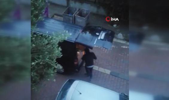 Hırsızların akıl almaz rahatlığı anbean kamerada