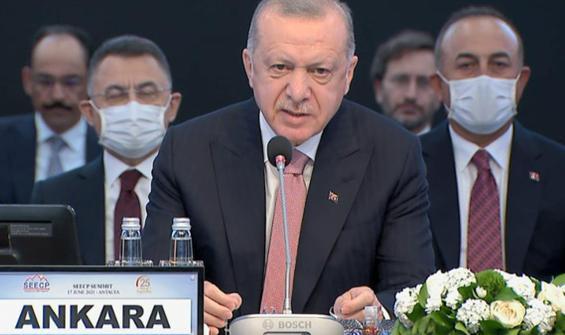 Erdoğan'dan 'AB'ye tam üyelik' mesajı