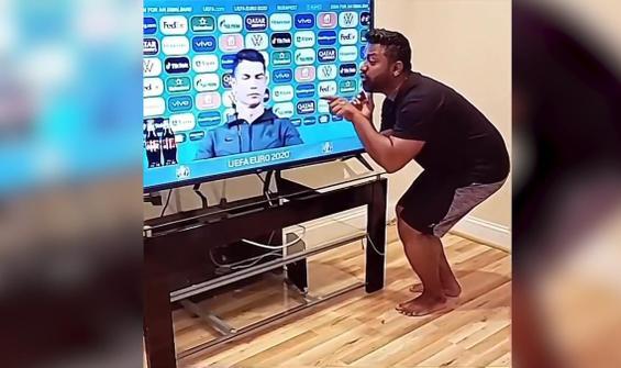 Ronaldo'nun o hareketi interneti ele geçirdi