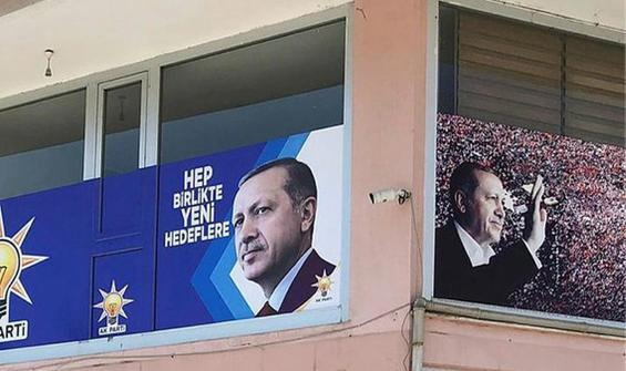AK Parti ilçe binasına molotoflu saldırı girişimi!