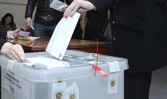Ermenistan'da oy verme işlemi sona erdi!