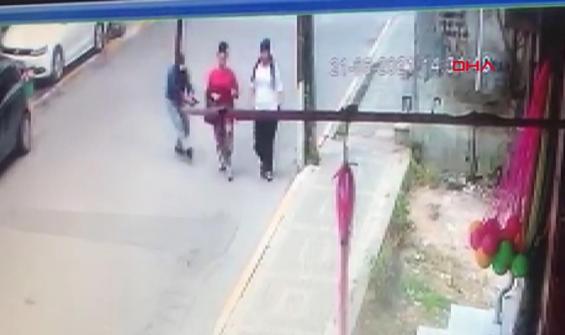 Arkadaşıyla yolda yürüyen eski eşini silahla böyle vurdu