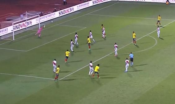 Kolombiya 1-2 Peru! Maç özeti izle