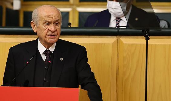 Bahçeli'den HDP'nin kapatılması davasıyla ilgili açıklama