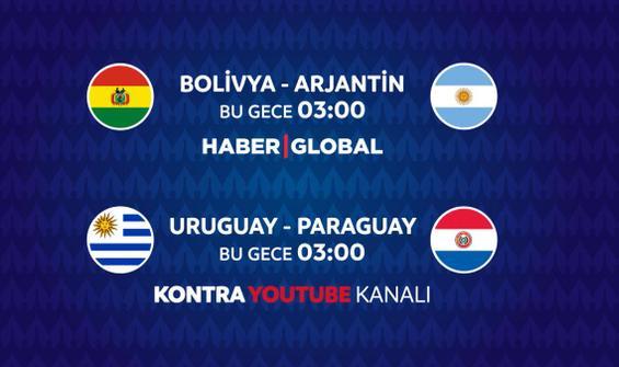 Bolivya - Arjantin maçı Haber Global'de