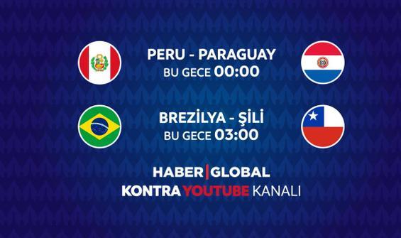 Peru - Paraguay maçı Haber Global'de