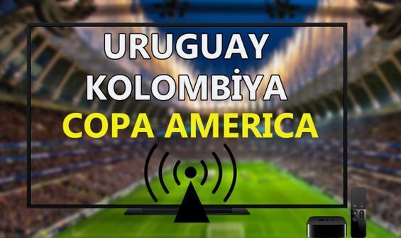 Uruguay Kolombiya maçı CANLI İZLE