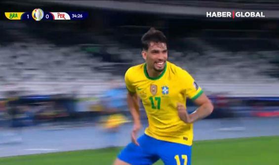 Brezilya adını finale yazdırdı
