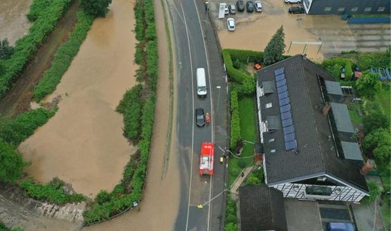 Almanya'yı sel bastı: Bilanço artıyor!