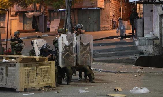 Nablus'un güneyindeki köy girişleri yeniden kapandı