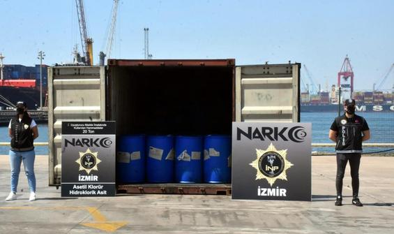İzmir'de operasyon: 26 ton malzeme ele geçirildi