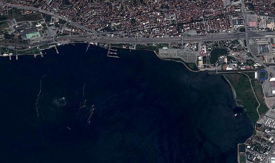 Marmara'da son durum uzaydan görüntülendi