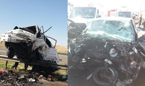 Bayram öncesi feci kaza: Çok sayıda yaralı var