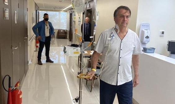 Bolsonaro, hastaneden taburcu oldu!