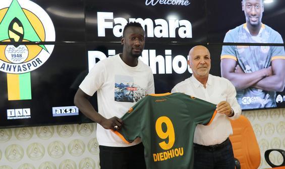 Alanyaspor'a Senegalli golcü