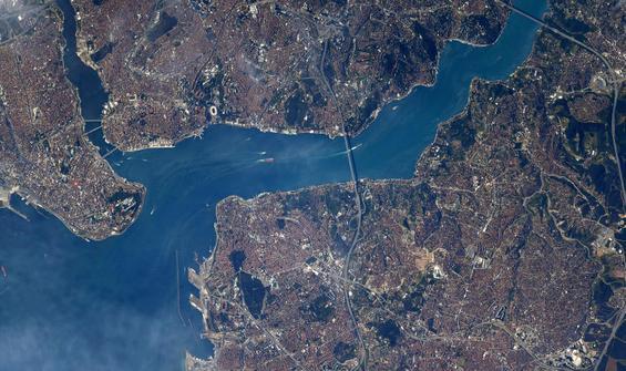 NASA'dan İstanbul paylaşımı: Harika görünüyor
