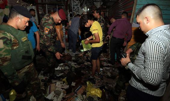 Bağdat'ta 30 kişinin öldüğü saldırıyı DEAŞ üstlendi