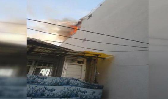 Mangal yakayım derken evi yaktı!