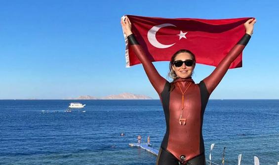 Cumhurbaşkanı Erdoğan'dan Şahika Encümen'e tebrik