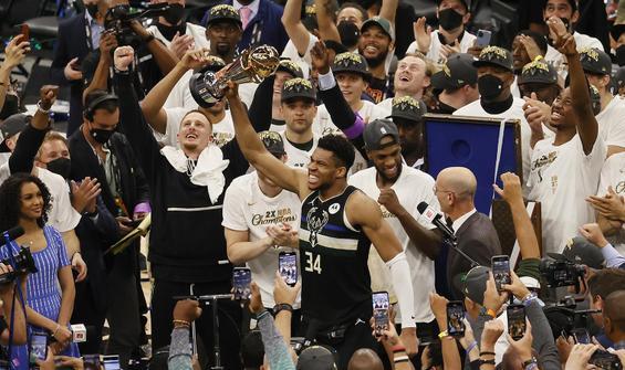 NBA Şampiyonu Milwaukee Bucks