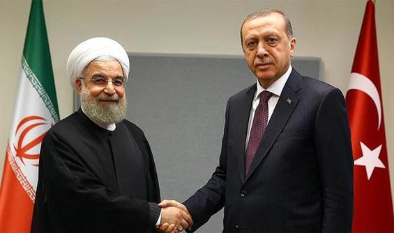 Cumhurbaşkanı Erdoğan, Ruhani ile görüştü!