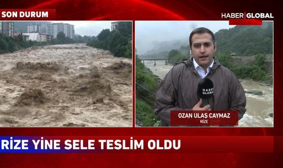 Rize'deki sel felaketinde son durum