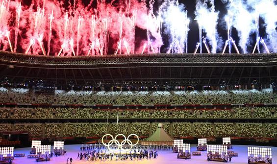 Salgının gölgesinde muhteşem açılış! Olimpiyatlar başladı