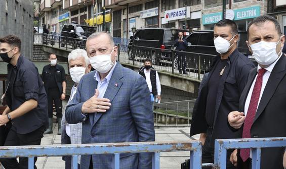 Erdoğan: Devletin tüm imkanları seferber edildi