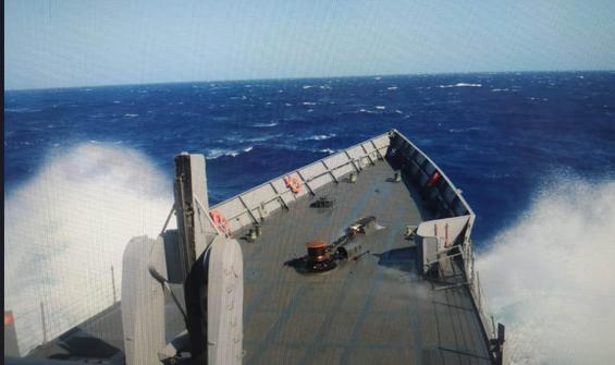 Göçmen gemisiyle ilgili MSB'den açıklama