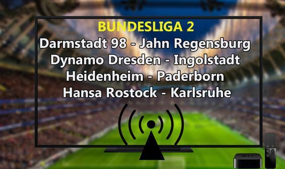 Almanya Bundesliga 2 maçları CANLI İZLE