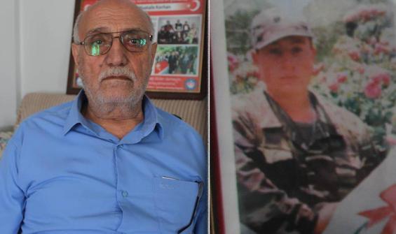Şehit babası 23 yıllık hukuk mücadelesini kazandı