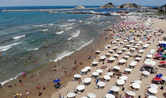 Şile'de denize girmek bugün de yasak!