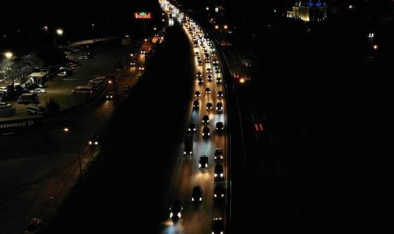 Tatilciler dönüş yolunda! TEM'de trafik yoğunluğu