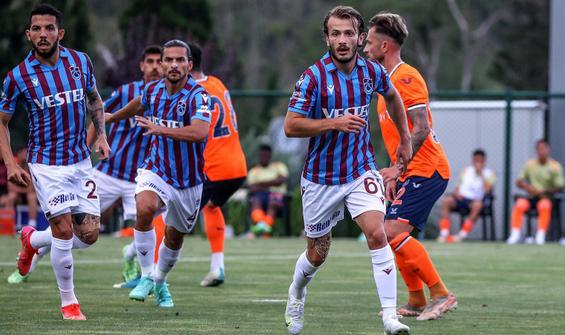 Trabzonspor - Başakşehir maçında gol sesi çıkmadı