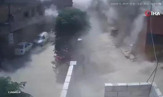 Afrin'de Sivil Savunma Merkezi böyle vuruldu!