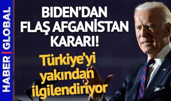 Biden'dan Türkiye'yi yakından ilgilendiren Afganistan kararı!