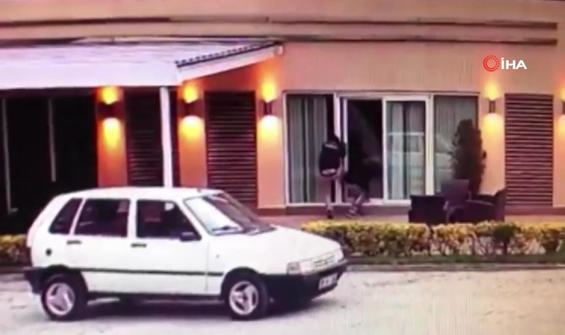 Hırsızlardan şaşırtan hamle: Özel güvenlik kıyafeti giydiler