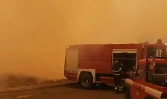 Sardunya Adası'nda büyük yangın! Avrupa'dan yardım istedi