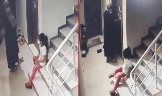 Kızına gözcülük yaptırdı: Kapıları böyle açtı!