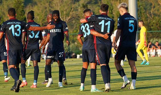 Trabzonspor, Kasımpaşa'yı 2 golle geçti