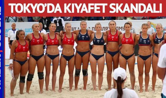 Bikini altı giymeyince ceza aldılar! Tokyo Olimpiyatlarında kıyafet skandalı