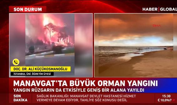 Küçükosmanoğlu Manavgat yangınını değerlendirdi: Bu bir afet