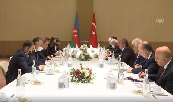 Şentop, Azerbaycan Dışişleri Bakanı Bayramov'u kabul etti