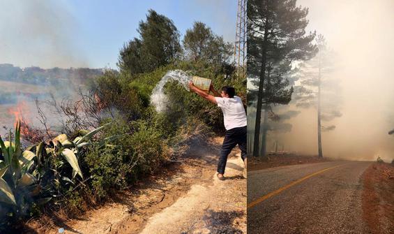 4 ilde orman yangınları!