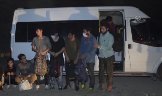 Yasadışı giriş yapan 86 yabancı uyruklu yakalandı
