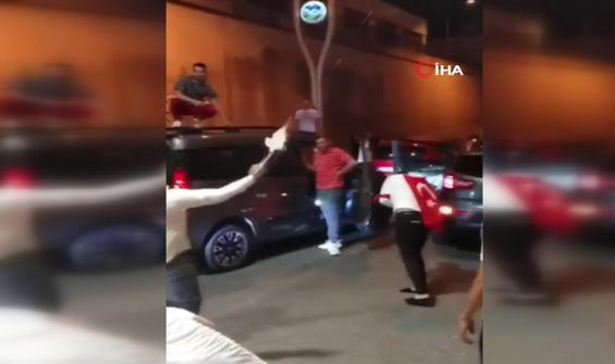 Magandalar yine sokaklarda: Polis gelmeden gidelim