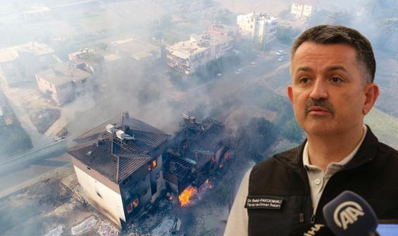 Acı haberi Bakan duyurdu: Yangında can kaybı 3'e yükseldi