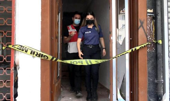Boşaltılan binada ceset bulundu